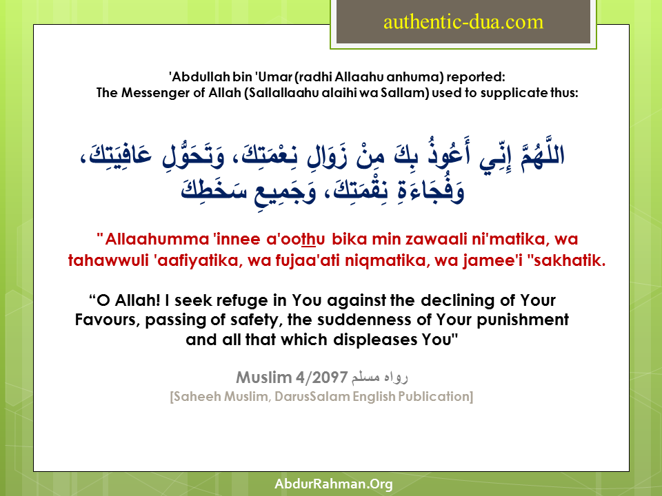 Authentic Dua Dhikr Fortification Of The Muslim Through